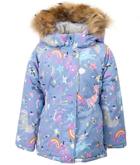H23-036 голубой Куртка девочка 92-116 по 5