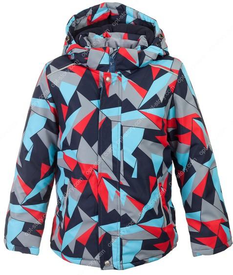 H36-08 красн Куртка  термо мальчик 116-140 по 5