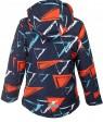H36-09 син Куртка  термо мальчик 116-140 по 5