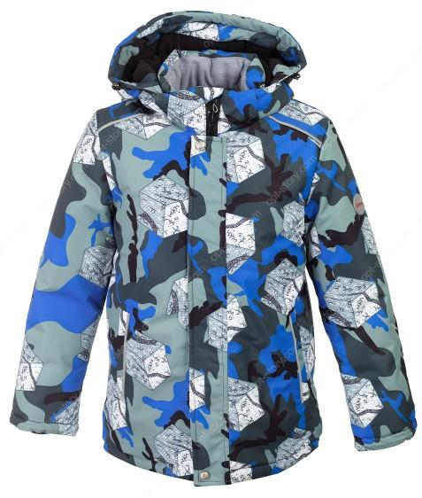 H39-02 син Куртка термо мальчик 128-152 по 5