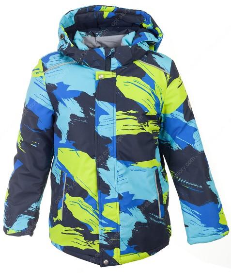 H39-03 желт Куртка  термо мальчик 128-152 по 5