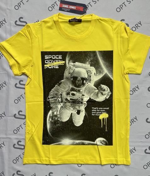 DJ22 желтый Футболка мужская M - 2XL по 4шт