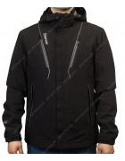 8221 чёрная Куртка мужская S-3XL по 6