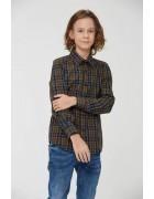 BCS-8490 синий Рубашка мальчик 110-160 48/12