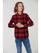 BCS-8492 зел Рубашка мальчик 110-160 48/12