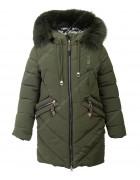 HL-628 хаки Куртка девочка  140-164 по 5