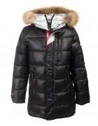 82056#1 черный Куртка маль. 140-176 по 6