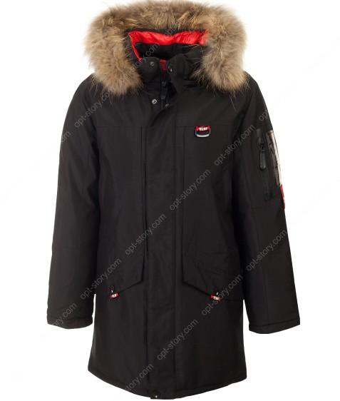 82070#1 черный Куртка маль. 140-176 по 6