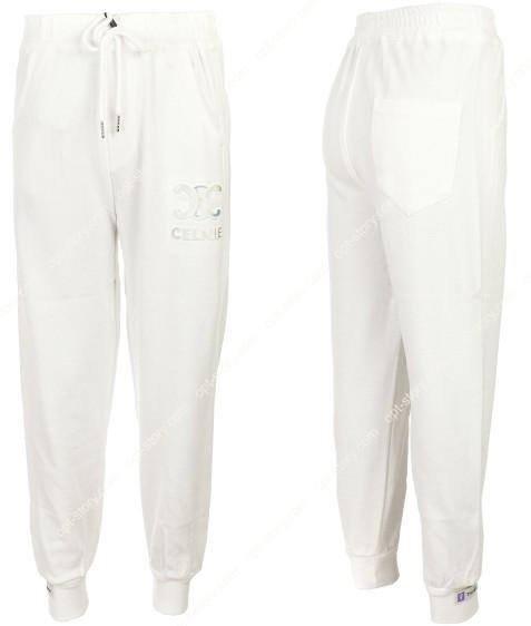 2152 белый Спорт штаны дев 120-160 по 5