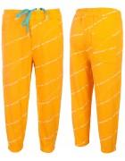 21Y01 оранж Спорт штаны дев 5-13 по 5