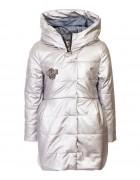 DX-9068 серый Куртка девочка 104-134 по 6