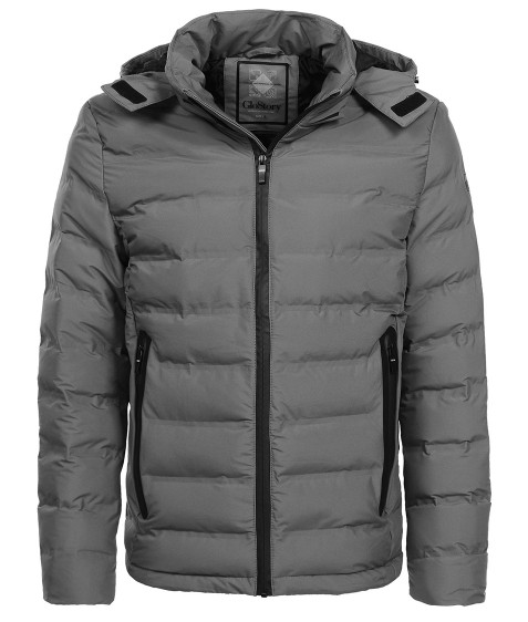 MMA-1679 т.серый Куртка муж M-2XL по 4