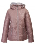 1087 пудра Куртка женская 3XL-7XL по 5