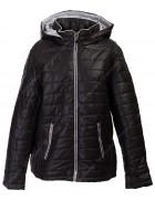 1087 черн. Куртка женская 3XL-7XL по 5