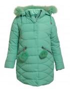 L-88702# зелен.Куртка девочка 140-164 по 5