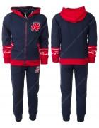 CH5760 красный  Спорт. костюм мальчик 98-128 по 6