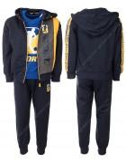 CH5760 желтый  Спорт. костюм мальчик 98-128 по 6