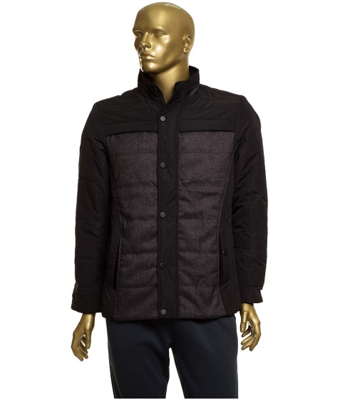 1345 черн. Куртка мужская М - 3XL по 6