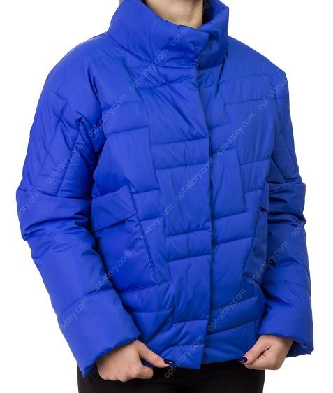 B07# син Куртка женская L-3XL по 4
