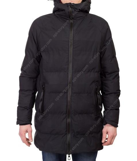 1823 чёрн Куртка мужская L-4XL по 5