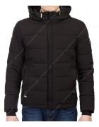 8830 чёрн Куртка мужская L-3XL по 4