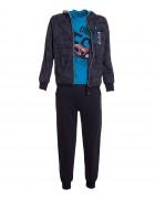 58285 т.син Спорт костюм мальчик 4-12 по 5