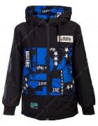 1963 синий Куртка мальчик 130-160 по 4