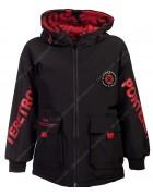 BB1915 красный Куртка мал. 140-158  по 4