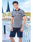 600 Комплект мужской серый размер XL по 3 штуки