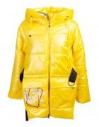 HL-220 жёлт. Куртка девочка 140-164 по 5