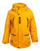 JK1988 жёлт. Куртка мальчик 140-164 по 5
