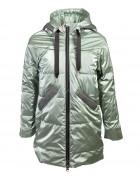 YS-998 зел. Куртка девочка 134-158 по 5