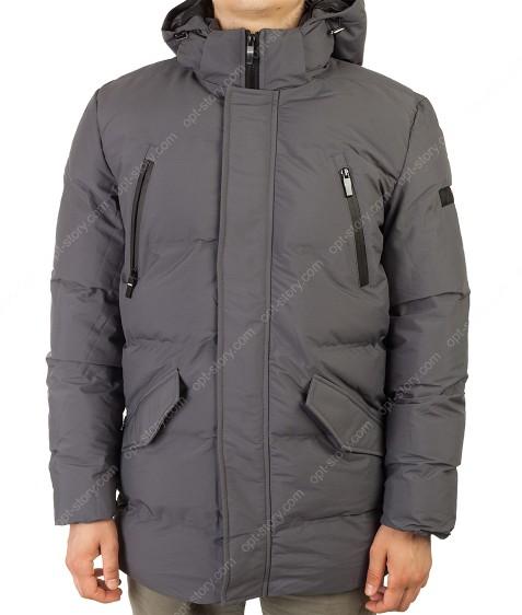 MMA-1678 т.серый Куртка муж M-2XL по 4