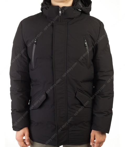 MMA-1678 черный Куртка муж M-2XL по 4