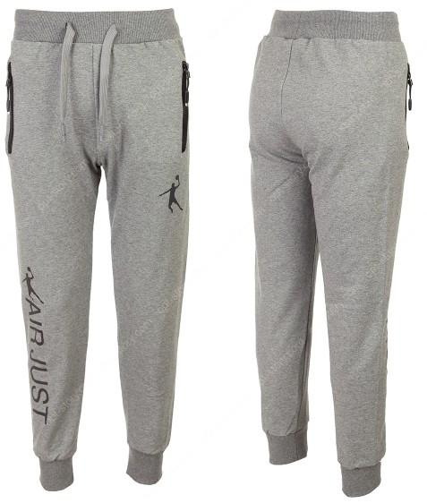 88175 серый Спорт штаны маль. 134-164 по 6