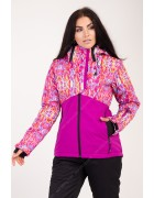 B2338 фиолет. Куртка женская S-XL по 4