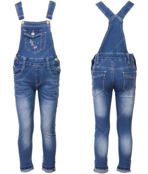 57 Комбез джинс.девочка 1-5 по 5