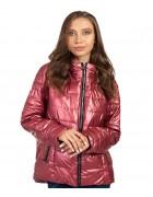 F665# красн Куртка женская S-2XL по 5