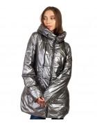 F676# сер Куртка женская S-2XL по 5