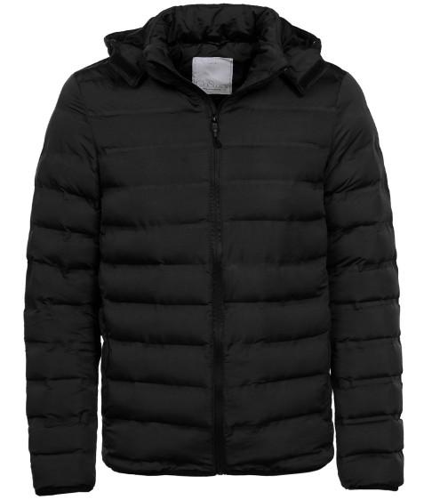 MMA-1732 черный Куртка муж S-2XL по 5