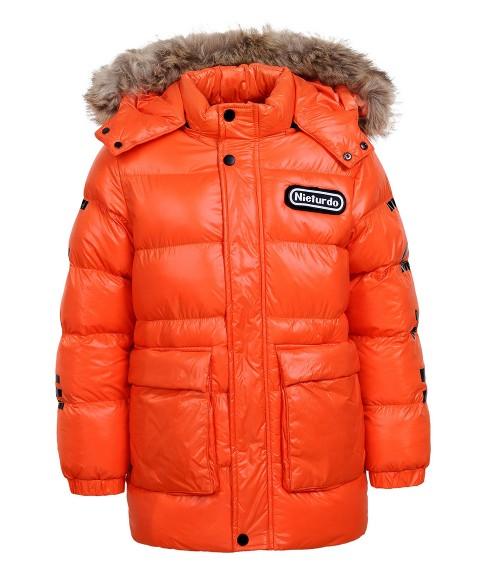 BMA-1330 оранж. Куртка мальчик 134-170 по 4