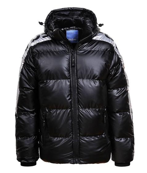 BMA-1554 черн. Куртка мальчик 134-170 по 4