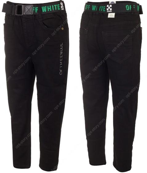 521083 джинсы черн 21-26(122-152) по 6