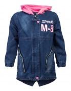 88B09 джинс Куртка девочка 130-160 по 4
