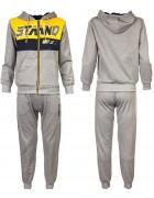 8337 серый Спортивный костюм мальчик 116-146 по 6