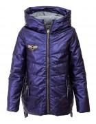 DX-9060 синий Куртка девочка 128-158 по 6