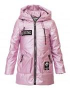DX-9067 сирень Куртка девочка 116-146 по 6