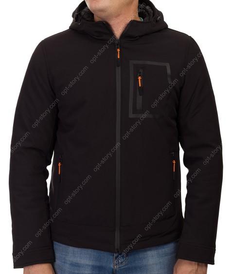 1272 черн. Куртка мужская M-3XL по 5