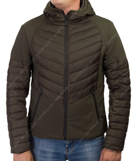 1278 хаки Куртка мужская M-3XL по 5