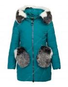 HM-927 зел Куртка девочка 140-164 по 5